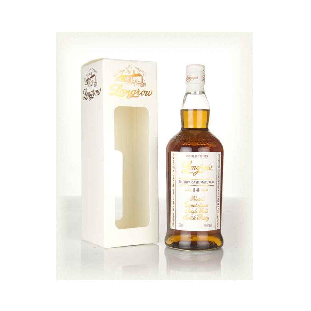 Longrow 14 Year Old Peated - Oloroso Sherry 700ml