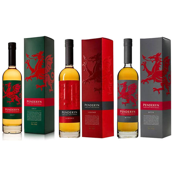 Penderyn Bundle - Celt, Legend, Myth (3 Bottles)