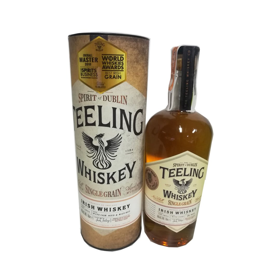 Teelings Single Grain 70cl