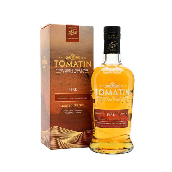 Tomatin Fire Limited Edition
