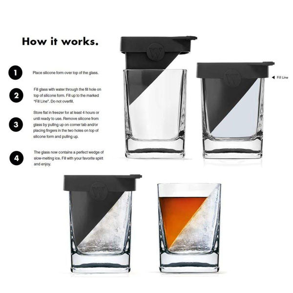 Corkcicle Whisky Wedge