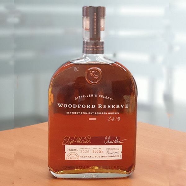 Woodford Reserve Distillers Select with Master Distiller Chris Morris Signature