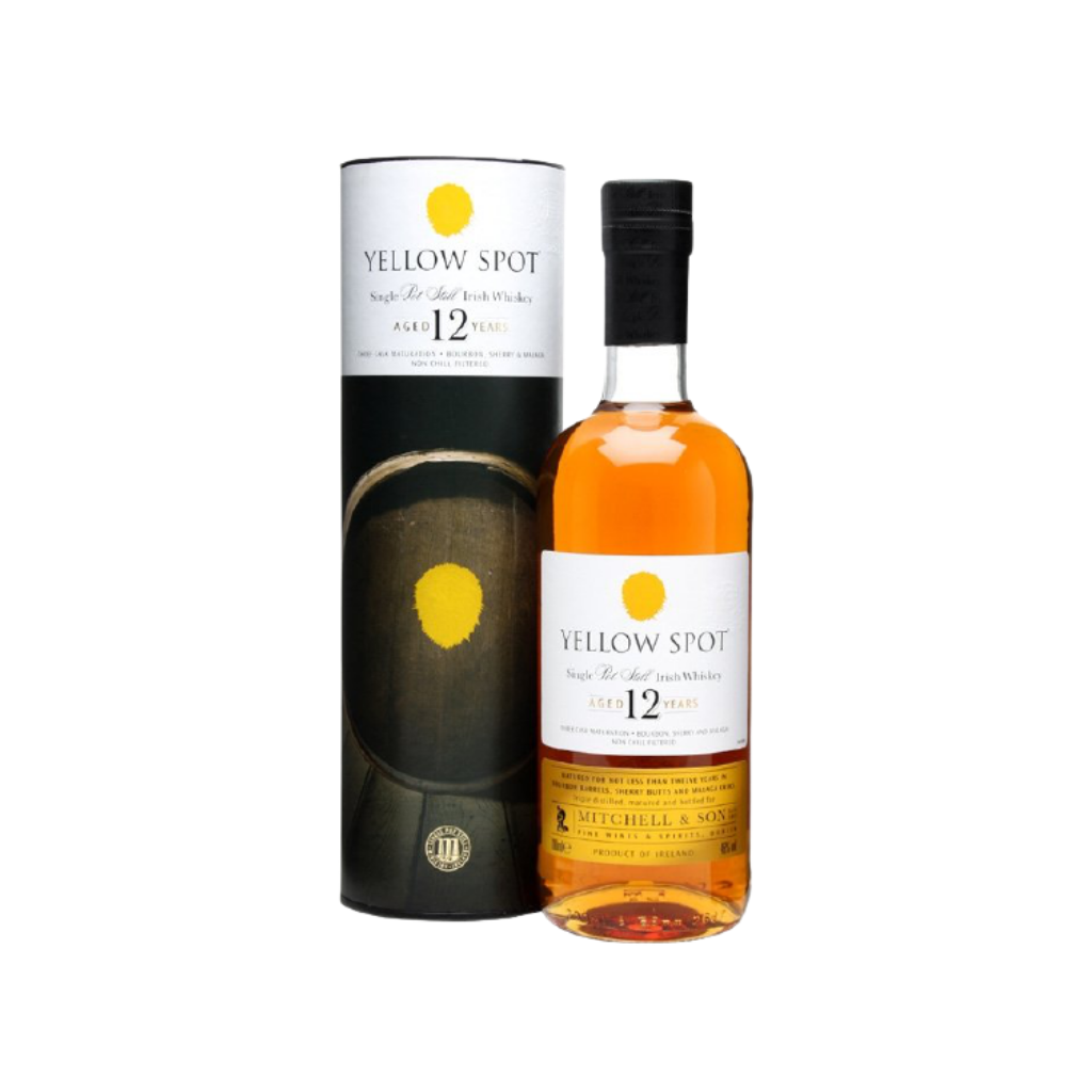 Yellow Spot 12 Year Old Single Pot Still Whiskey 70cl