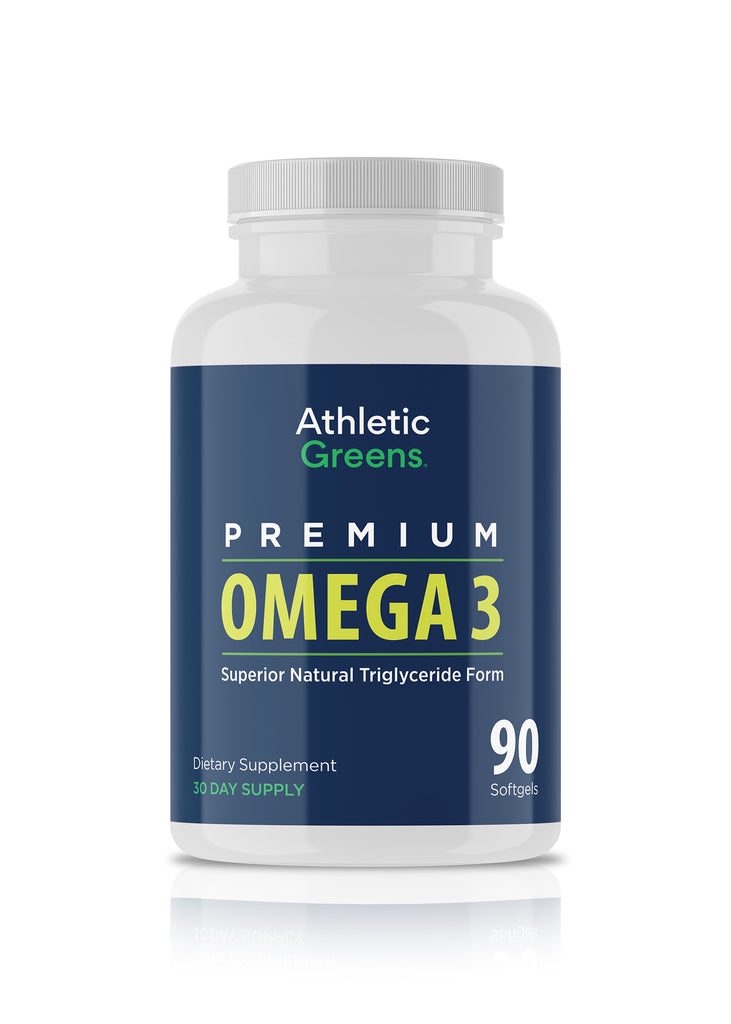Athletic Greens Omega 3 Fish Oil (90 count).