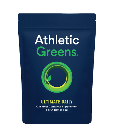 Athletic Greens Ultimate Daily.