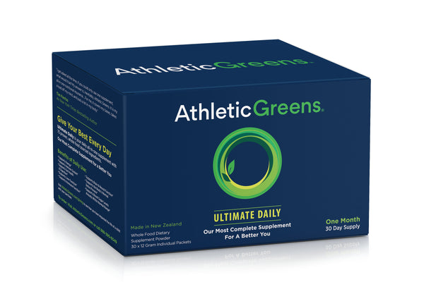 Athletic Greens Ultimate Daily Travel Packs (30 Count).
