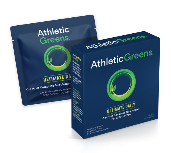Athletic Greens Ultimate Daily Travel Packs (5 count).