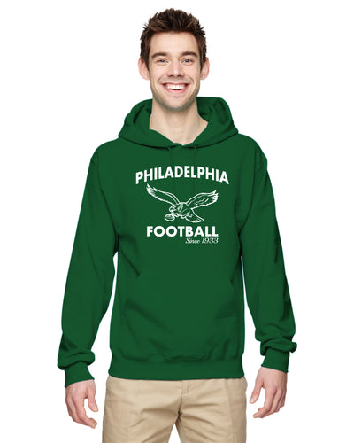 Philadelphia Football Hoodie, adult and youth 996