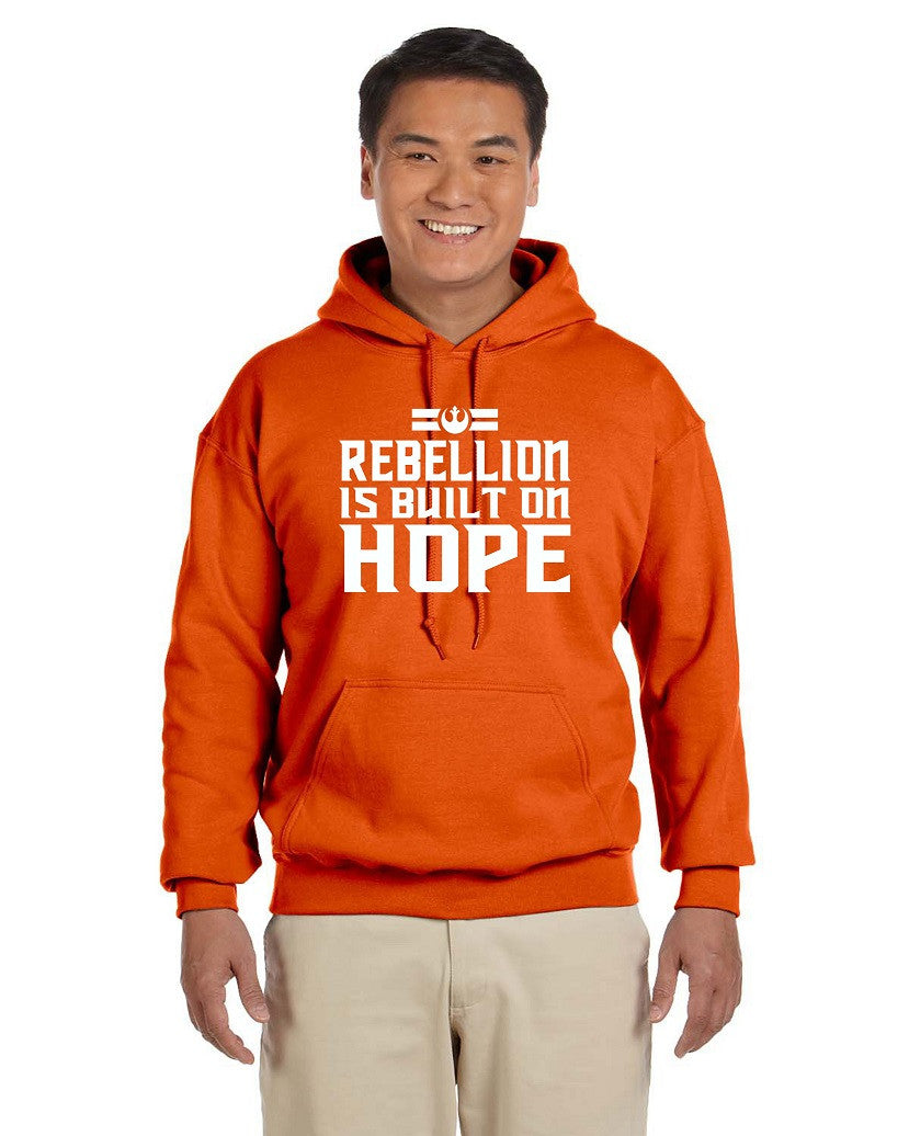 Rebellion, adult and youth unisex hoodie G185