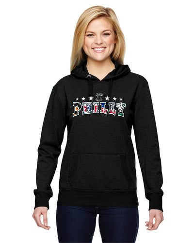 Philly Sports Ladies Glitter Hoodie JA8860