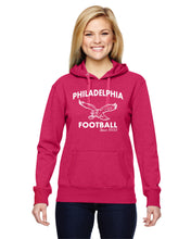 Philadelphia Football Ladies Glitter Hoodie JA8860