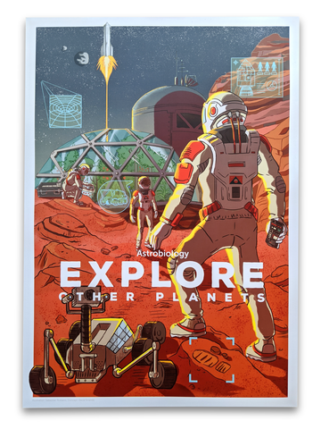 Explore other Planets! Poster
