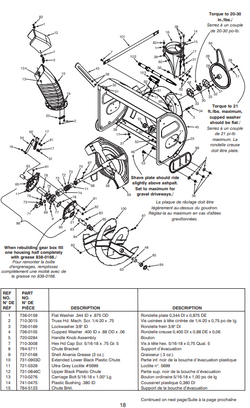 "31AE9B3H501 30"" MTD Dual Stage Snowthrower Owners Manual"
