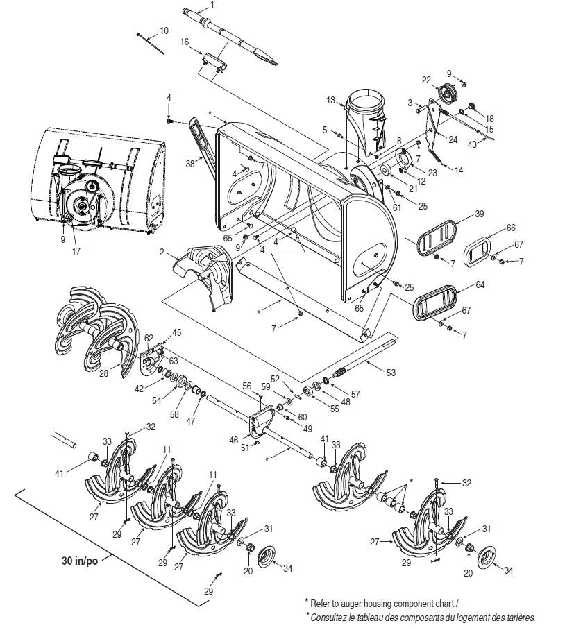 C459-52101 Manual for Craftsman Dual Stage Snowblower