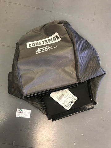 583340201 Craftsman GRASS BAG GREY