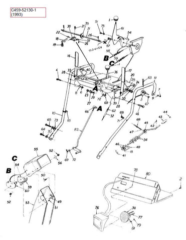 C459-52130 Craftsman Manual for Track Drive Snowblowers