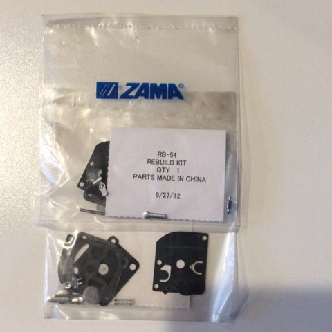 ZAMA RB-54 CARB KIT