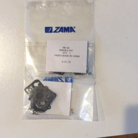 ZAMA RB-64 CARB KIT