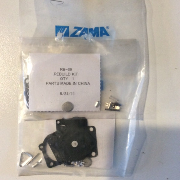 ZAMA RB-69  CARB KIT