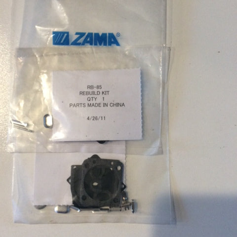 ZAMA RB-85 CARB KIT