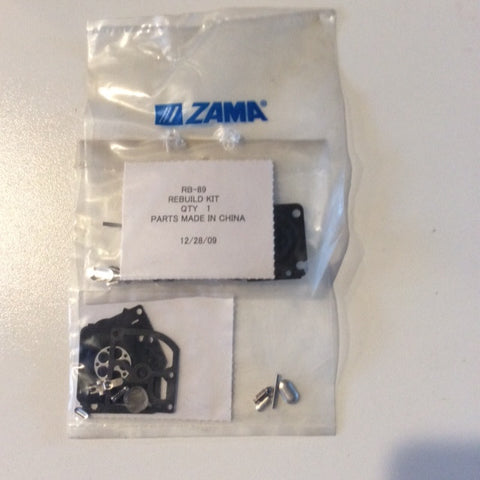 ZAMA RB-89 CARB KIT