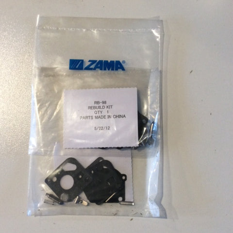 ZAMA RB-98 CARB KIT