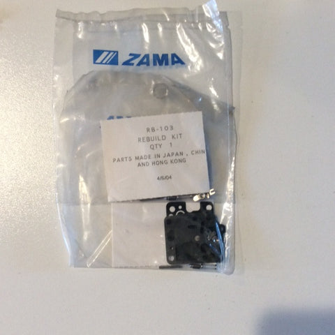ZAMA RB-103 CARB KIT