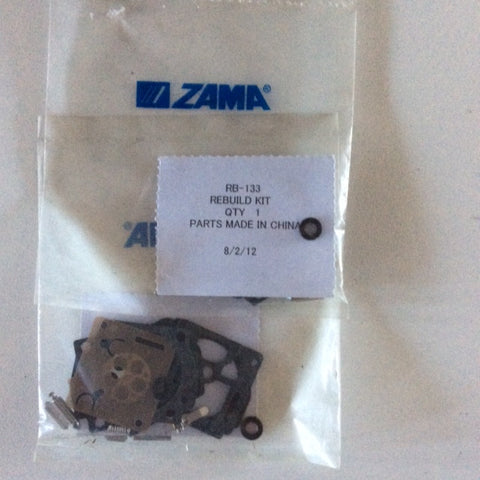 ZAMA RB-133 CARB KIT5