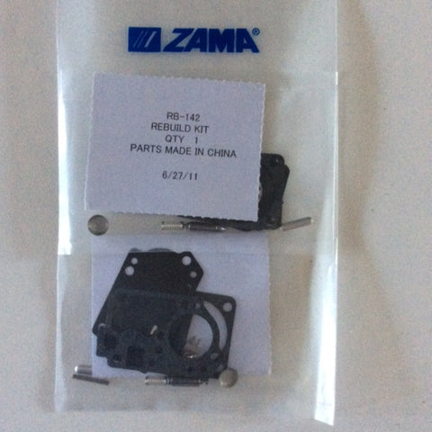 ZAMA RB-142 CARB KIT5