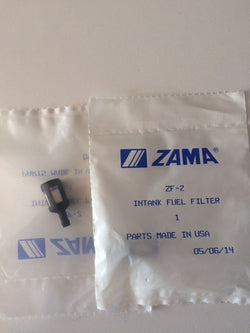 ZAMA ZF-2 IN-TANK FUEL FILTER