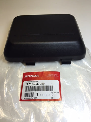 Honda 17231-Z0L-050 AIR FILTER COVER