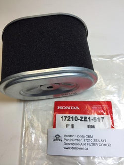 Honda 17210-ZE1-517 AIR FILTER