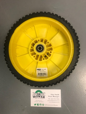 OREGON 72-115 WHEEL JOHN DEERE AM1115138 HUB SIDE