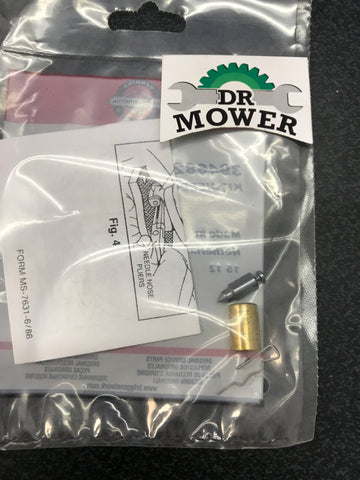 Briggs and Stratton 394682 Needle and Seat Kit DR Mower photo