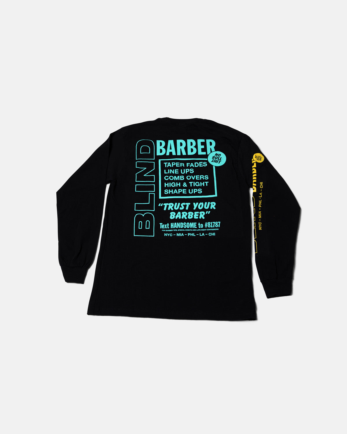 Trust Your Barber - Long Sleeve T-Shirt