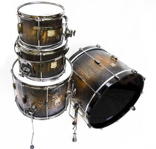 Cypress Stave Drum Kit