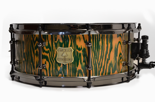 Douglas Fir Snare Drum Green