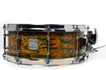 Segmented Distressed Paint Snare Drum