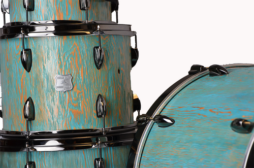 Douglas Fir Solid Stave Drum Kit