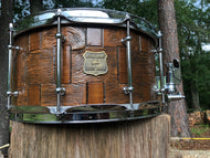 Patch snare drum 14x7