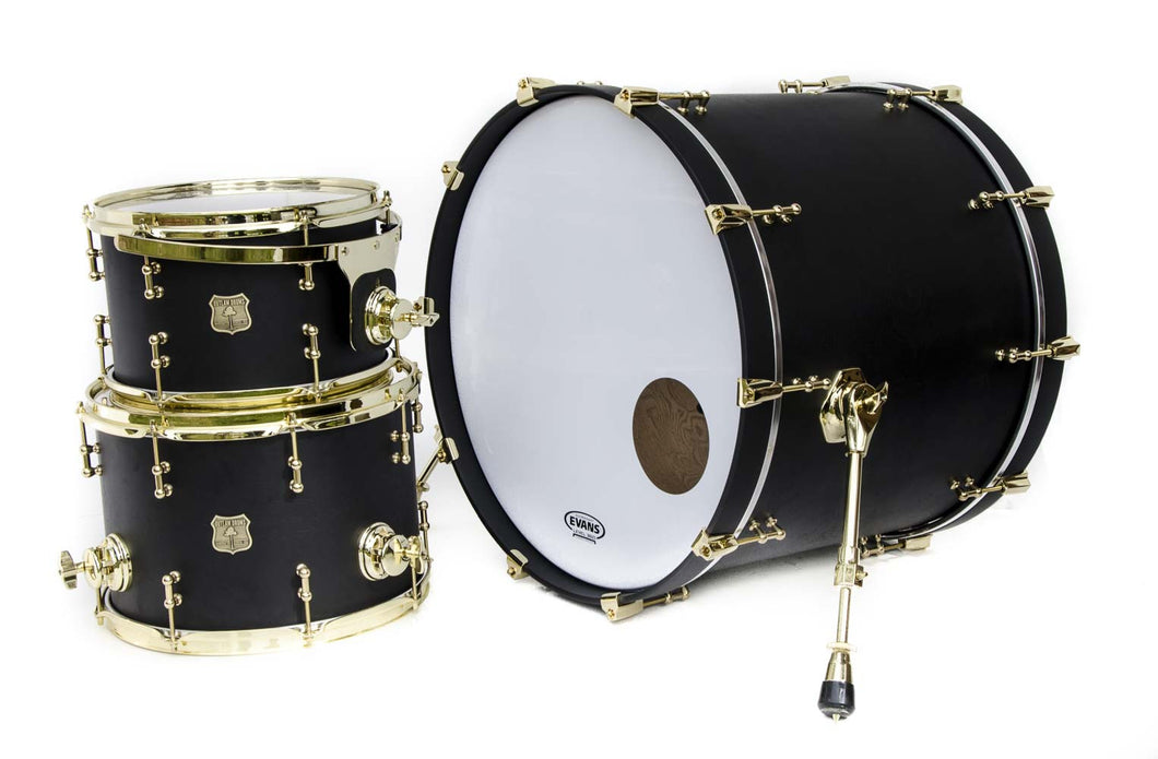 Black Oak Segmented Drum Kit