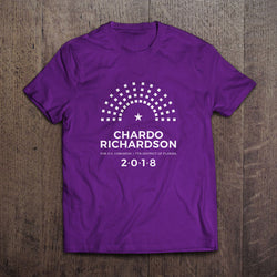 Chardo Richardson 2018 Campaign Shirt
