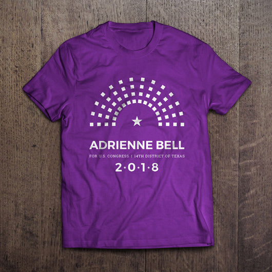 Adrienne Bell 2018 Campaign Shirt