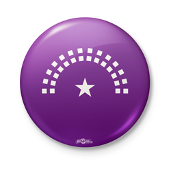 Brand New Congress Logo Purple Button