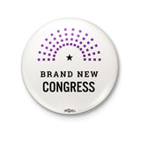 Brand New Congress Logo White Button
