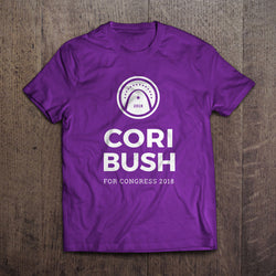Cori Bush 2018 Purple T-Shirt