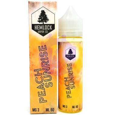 VAPR NZ - Hemlock Vapor Co. - Peach Sunrise(60ml)