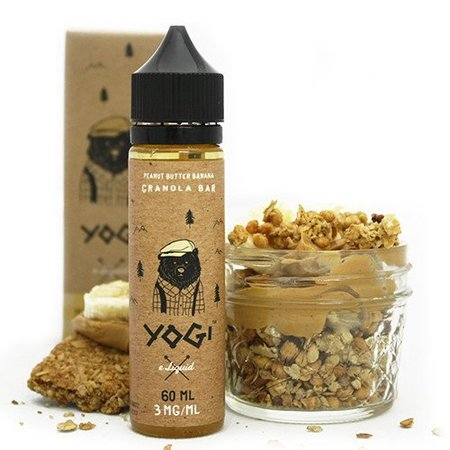 VAPR NZ - Yogi Eliquid - Original Granola Bar (60ml)