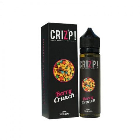 VAPR NZ - Nasty Juice Crizp - Berry Crunch (60ml)