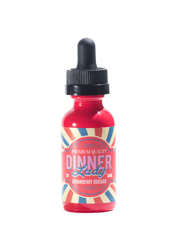 VAPR NZ - Dinner Lady - Strawberry Custard (60ml)
